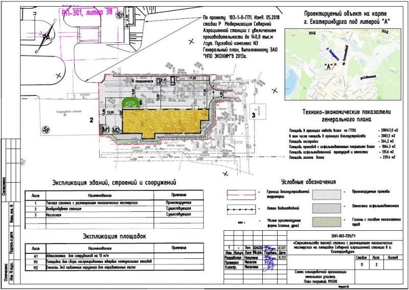 Компания МК-Эталон разработал спецразделы и провела негосударственную экспертизу проекта теплой стоянки на северной аэрационной станции