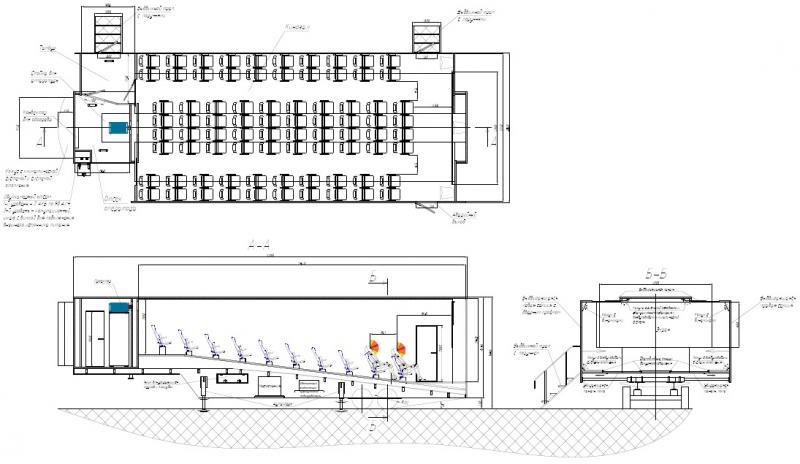 МК-Эталон требуется исполнители на выполнение технической экспертизы проекта мобильного кинотеатра