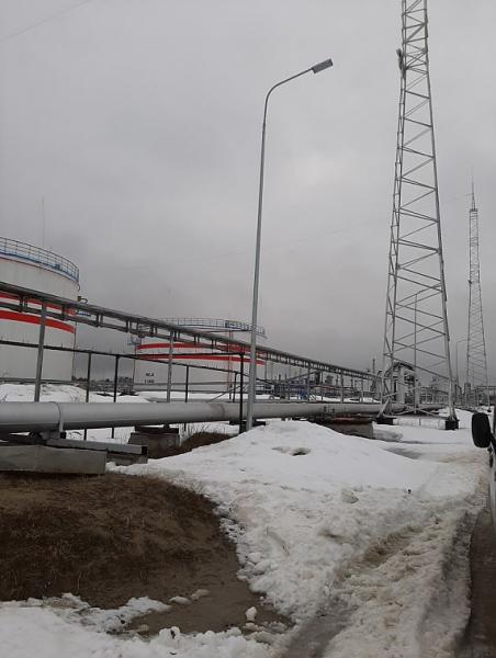 Нужно выполнить монтаж прожекторных мачт в г.Урай ХМАО-Югры