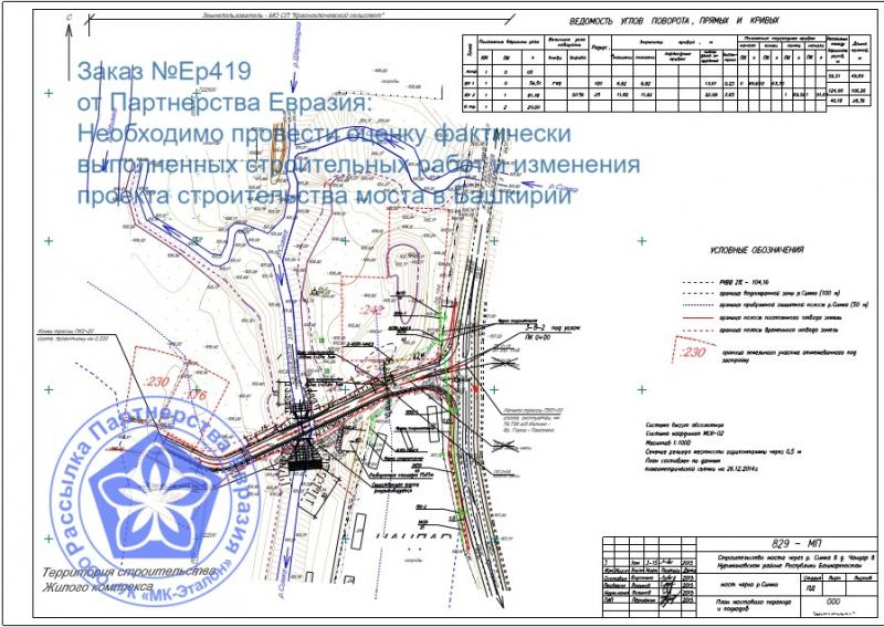 УК МК-Эталон - Центр Строительных Документов Партнерства Евразия ищет экспертов по судебной экспертизе по строительству моста