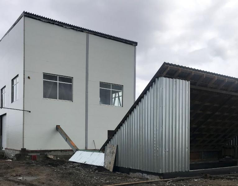 Маслоэкстракционный завод в п.Совхозный Белоярского района Свердловской области