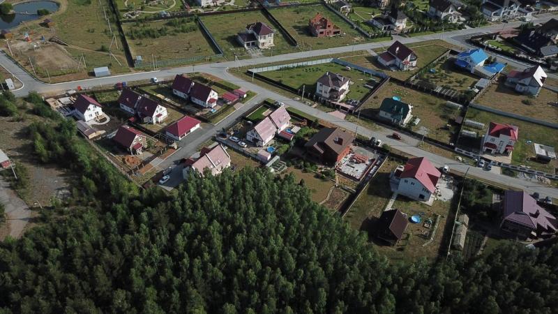 Коттеджный поселок Новая Рассоха около Екатеринбурга